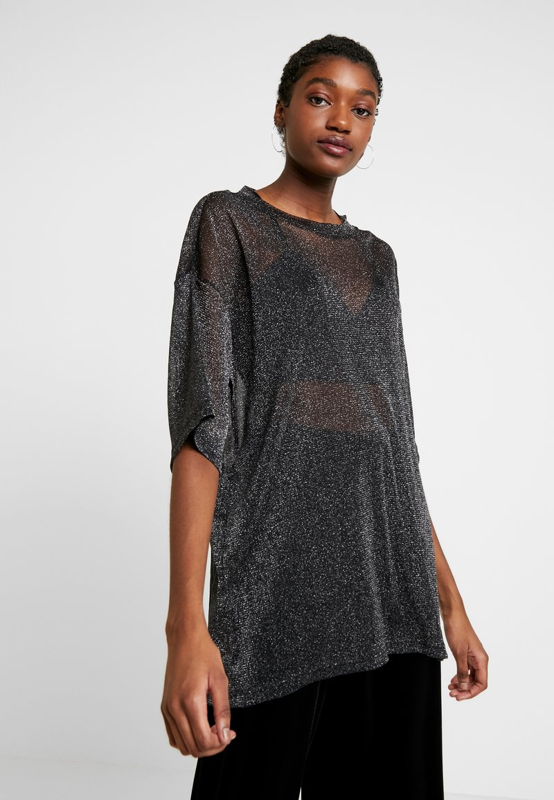 Monki - CISSI TEE  - T-shirts - black
