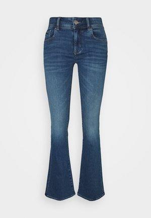 KICK BOOT - Široké džíny - super indigo