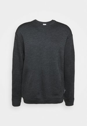 ALTO CREW - Bluza - dark grey melange