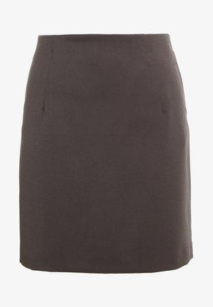 AILA SKIRT - Spódnica mini - taupe