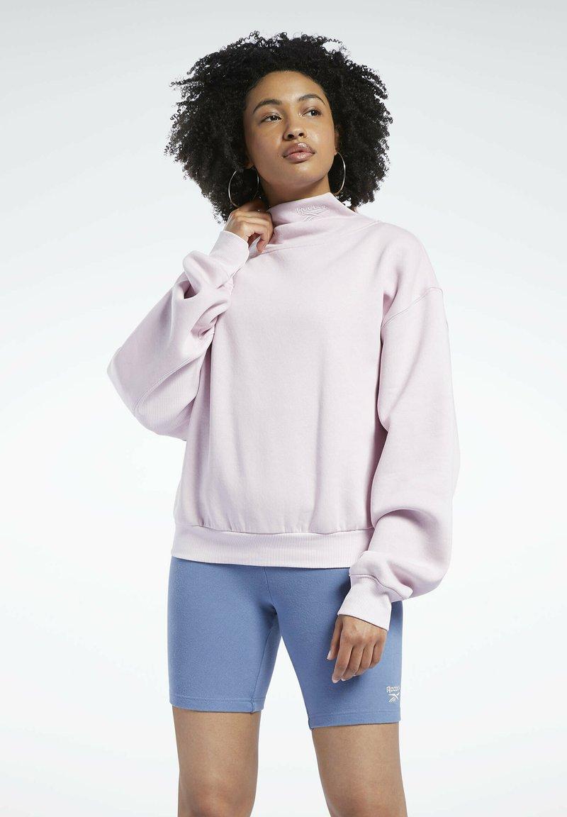 Reebok Classic - Fleece jumper - pink