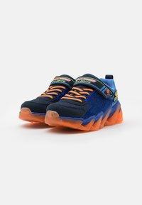 Skechers - MEGA SURGE - Trainers - navy/orange/lime - 1