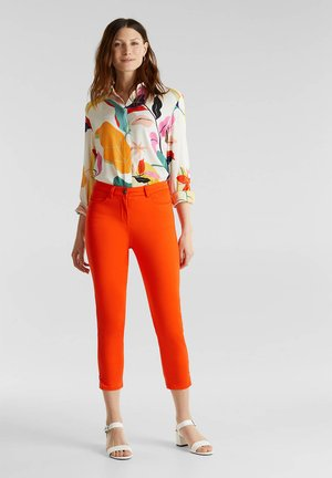 Trousers - red orange