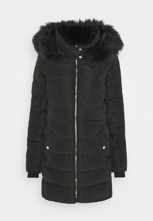 ONLCAMILLA QUILTED COAT - Vinterkappa /-rock - black