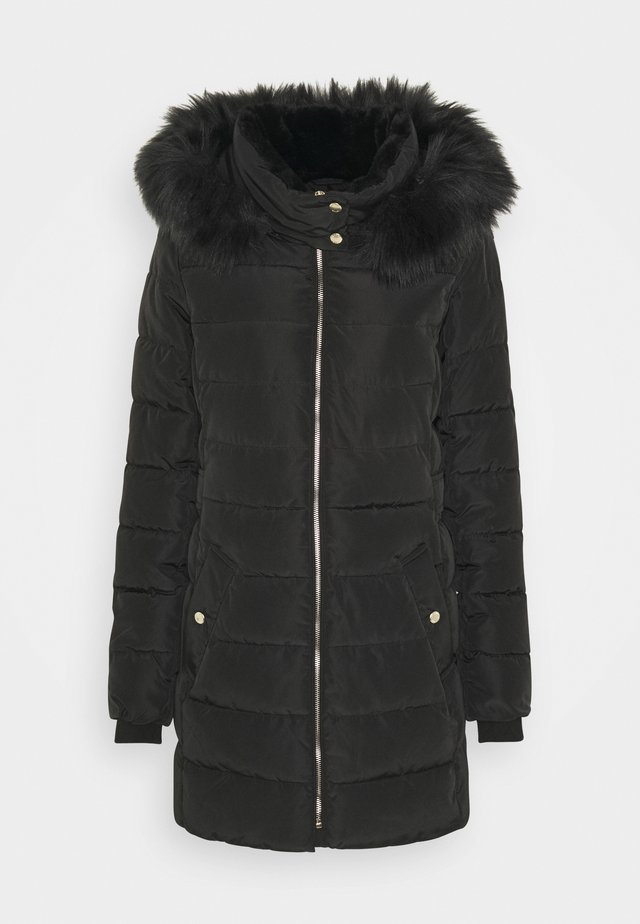 ONLCAMILLA QUILTED COAT - Wintermantel - black