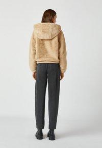 PULL&BEAR - Light jacket - mottled beige - 2