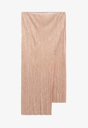 IRIS - Wrap skirt - silber