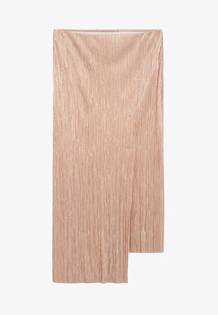 Violeta by Mango - IRIS - Wrap skirt - silber