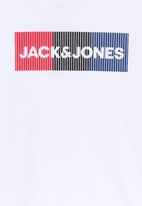 Jack & Jones Junior - JJECORP LOGO - T-shirt con stampa - white - 2