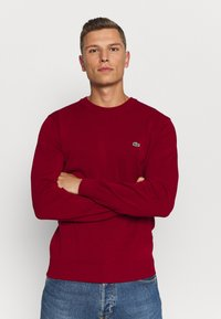 Lacoste - Jumper - bordeaux - 0