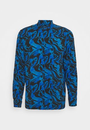 PRINTED FIT SHIRT - Shirt - yale blue