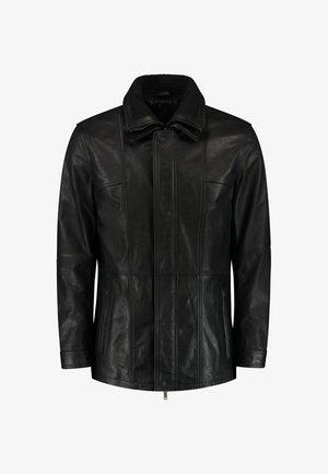 FLEX  - Leren jas - black