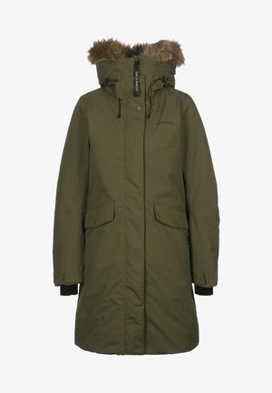 ERIKA - Winter coat - fog green