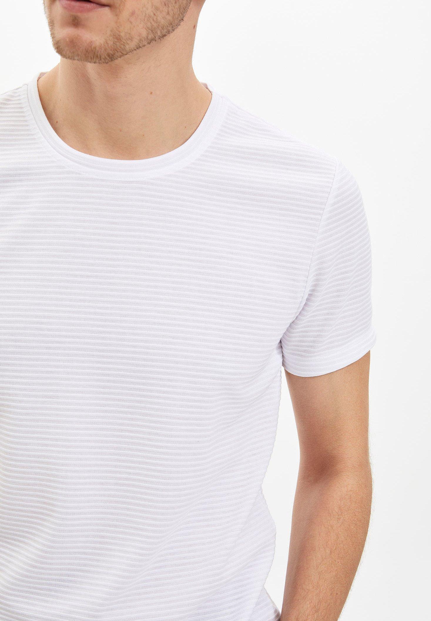 DeFacto Print T-shirt - white sjnmQ