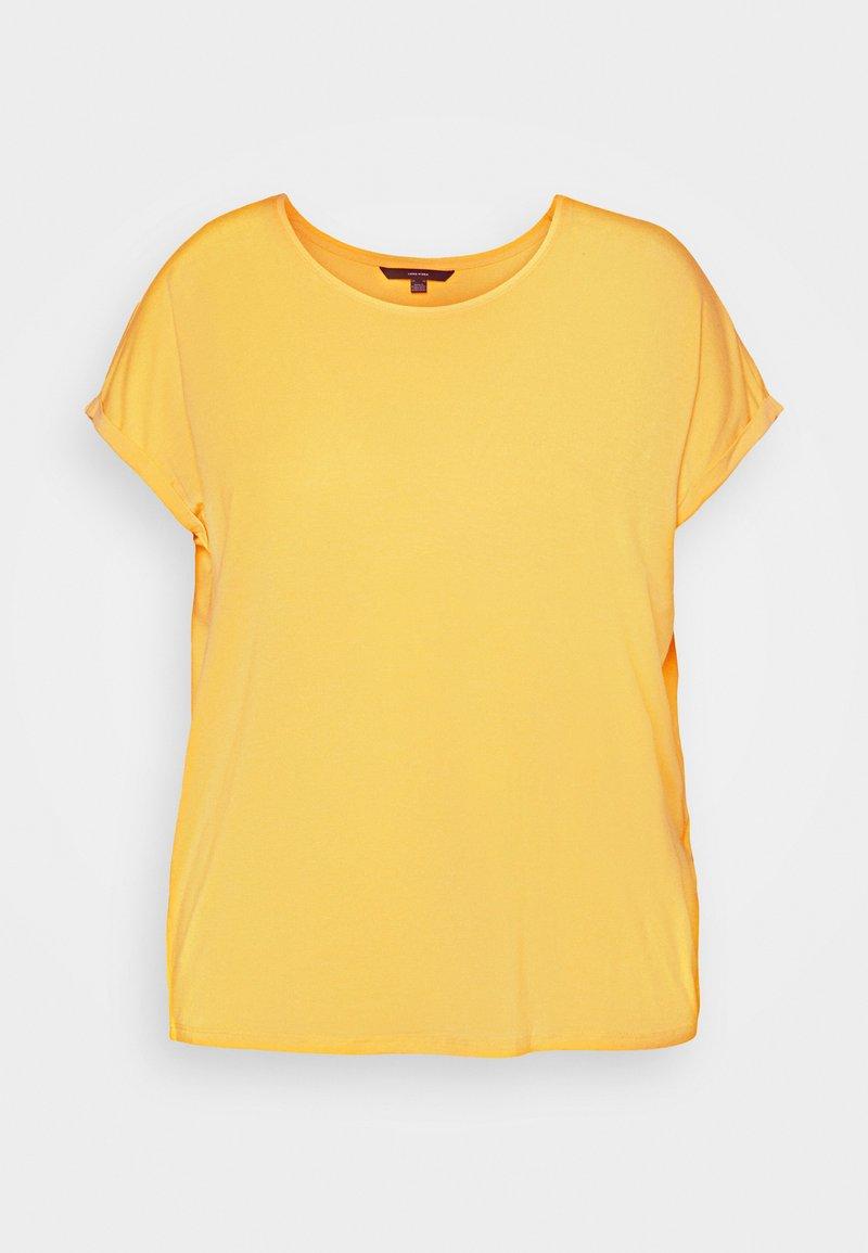 Vero Moda Curve - VMAVA PLAIN - T-shirts - cornsilk
