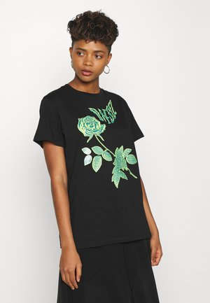 DARIA - T-shirt print - black
