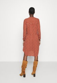 Selected Femme - SFDAMINA DRESS  - Kjole - dark red - 2