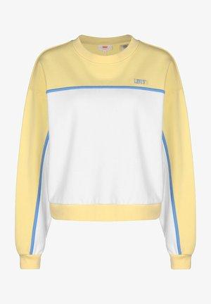 SWEATER CELESTE W - Sweatshirts - pale banana