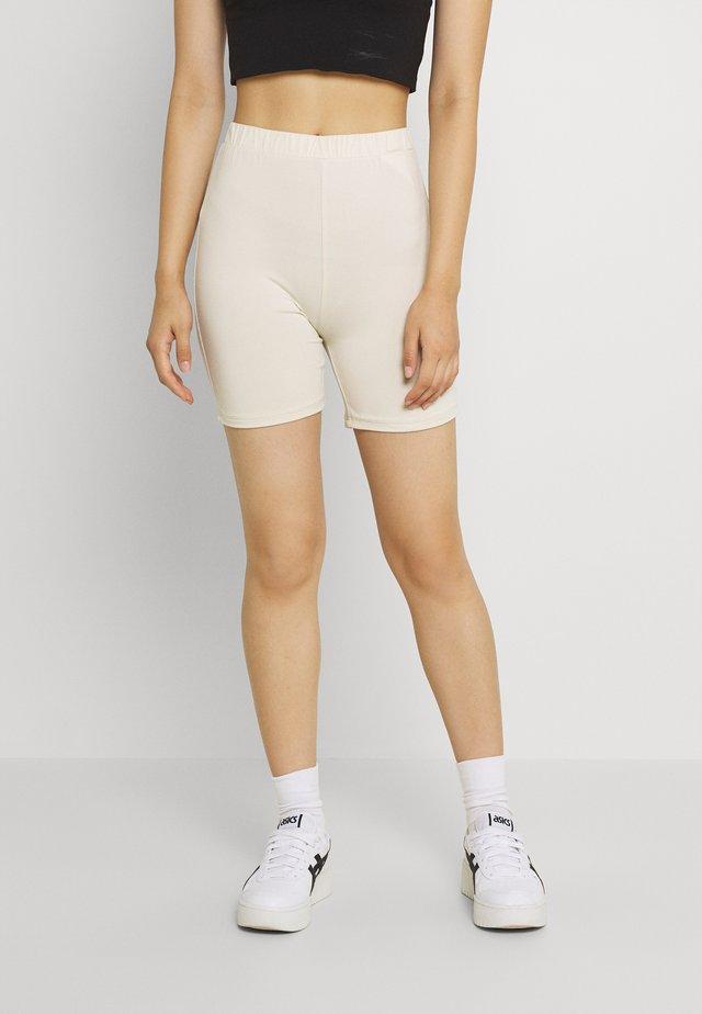 VIBE BIKER - Shorts - birch