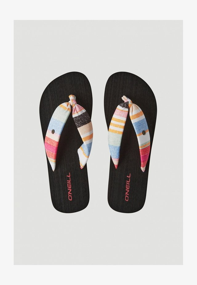 DITSY SUN - Teensandalen - yellow with red