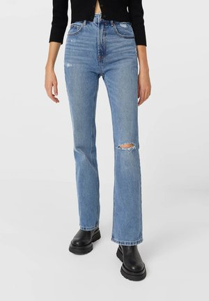 VINTAGE - Flared jeans - blue denim