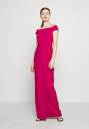 LUXE TECH LONG GOWN - Occasion wear - bright fuchsia