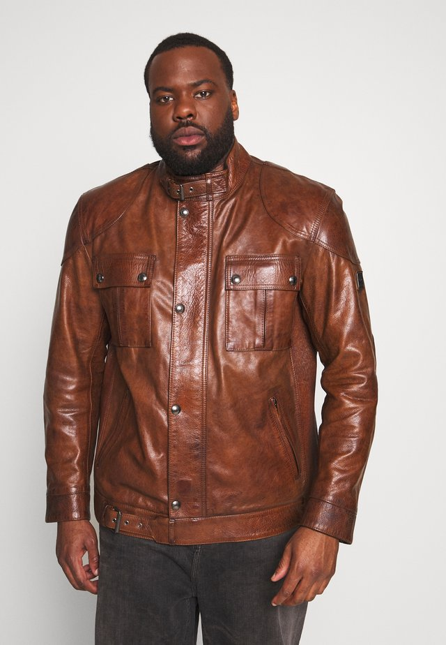 Big & Tall GANGSTER - Giacca di pelle - burnished gold