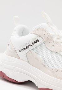 Calvin Klein Jeans - MAYA - Trainers - white - 2
