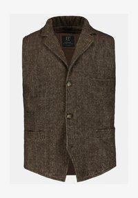 JP1880 - Waistcoat - marron foncé - 0