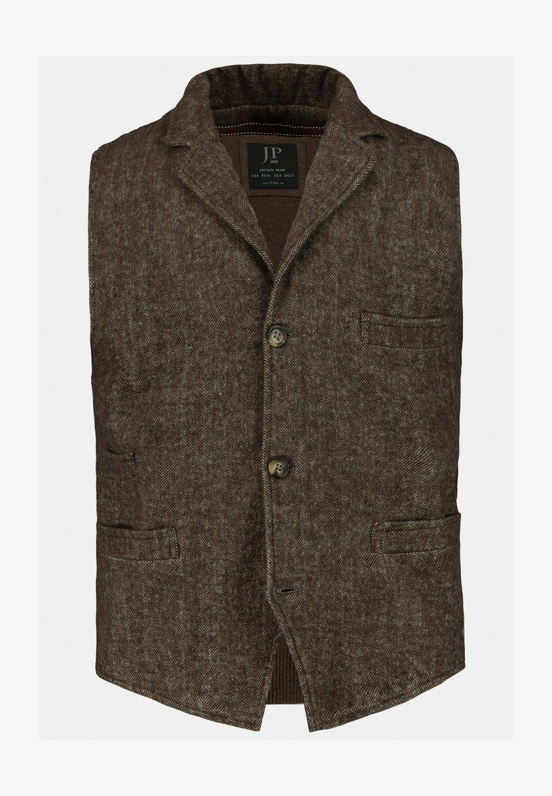 JP1880 - Waistcoat - marron foncé