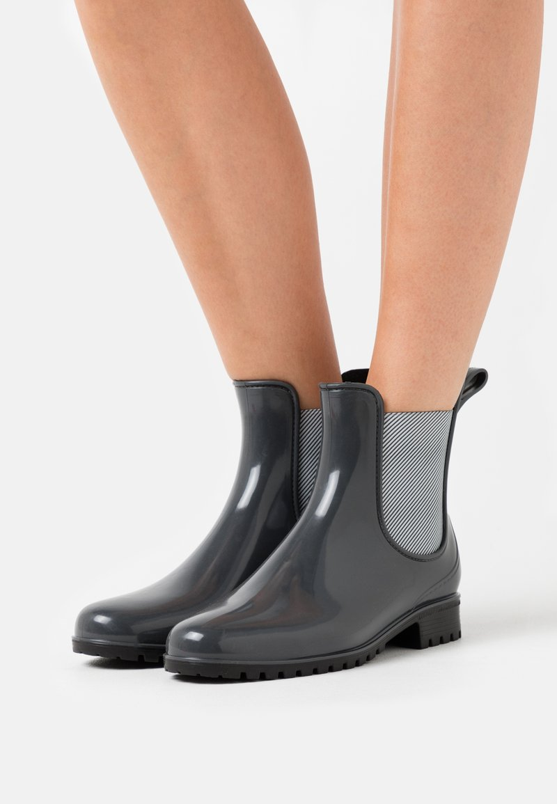 Anna Field - Wellies - grey
