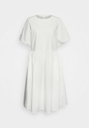 JANA MIDI DRESS - Freizeitkleid - white