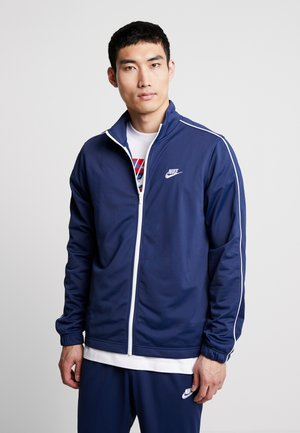 SUIT BASIC - Trainingsanzug - midnight navy/white