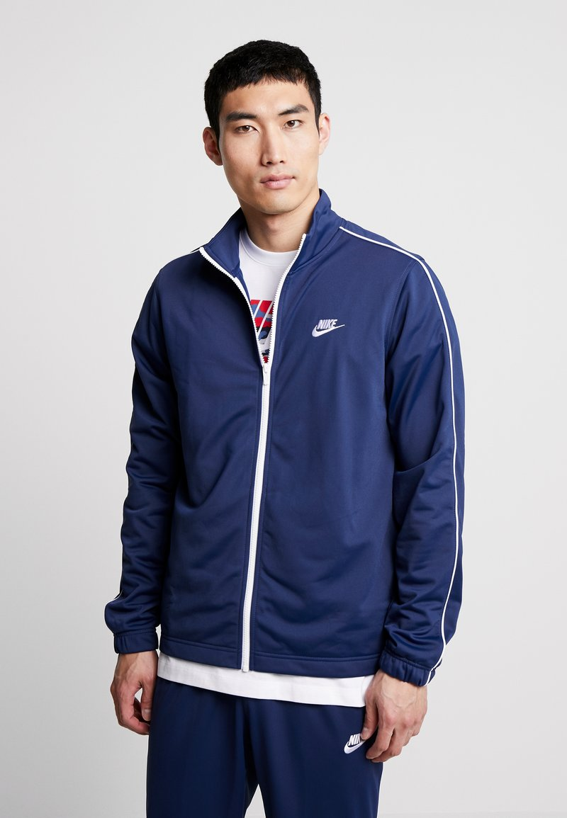 Nike Sportswear - SUIT BASIC - Dres - midnight navy/white