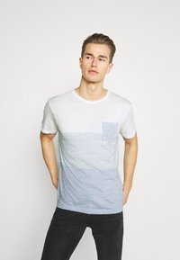 Solid - PORUS - Print T-shirt - insignia blue - 0
