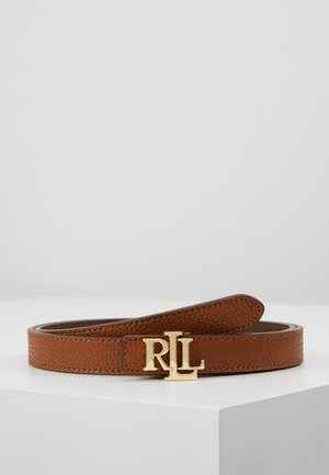 Belt - tan/dark brown