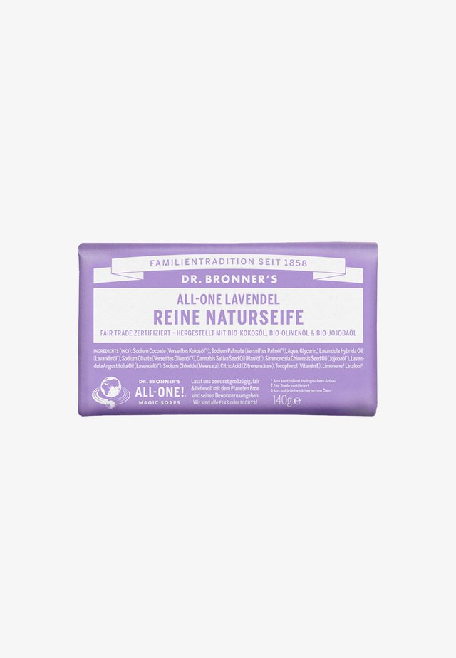 PURE NATURAL SOAP 140G - Savon en barre - lavendel