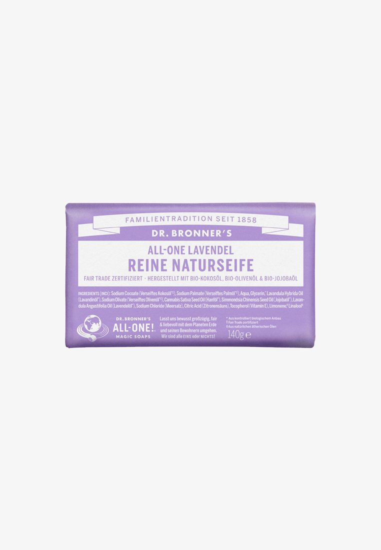 Dr. Bronner´s - PURE NATURAL SOAP 140G - Soap bar - lavendel