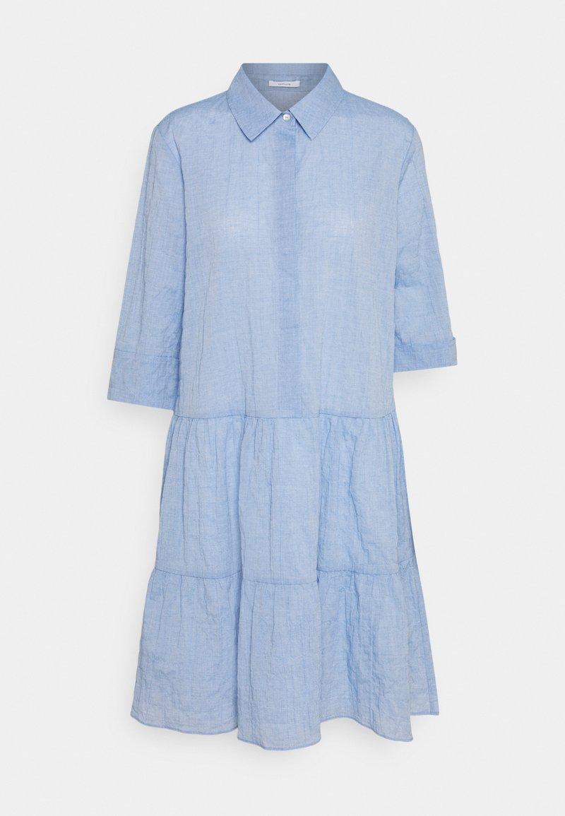 Opus - WRIANA - Shirt dress - blue mood