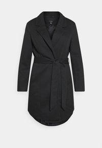 Vero Moda Curve - VMVERODONNA TRENCHCOAT CURVE - Zimní kabát - black - 0