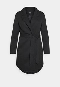 Vero Moda Curve - VMVERODONNA TRENCHCOAT CURVE - Classic coat - black - 0