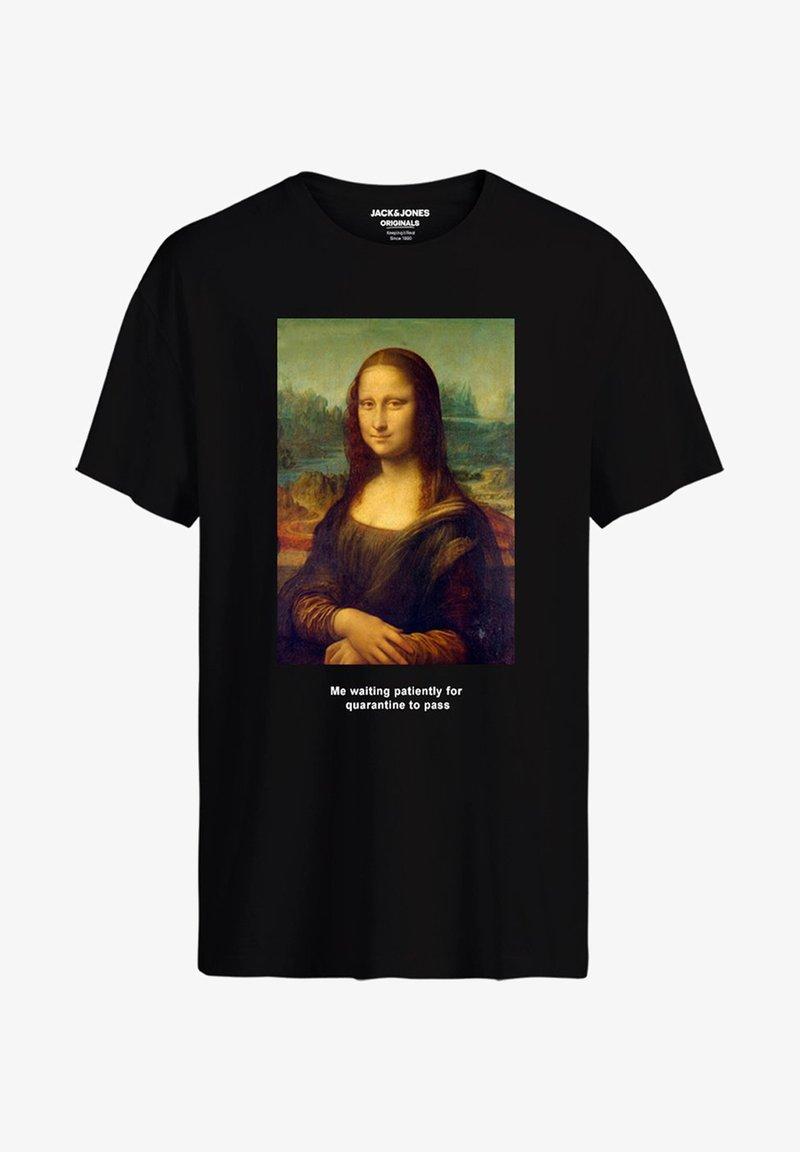 Jack & Jones HISTORY - T-Shirt print - black/schwarz vs5A6r