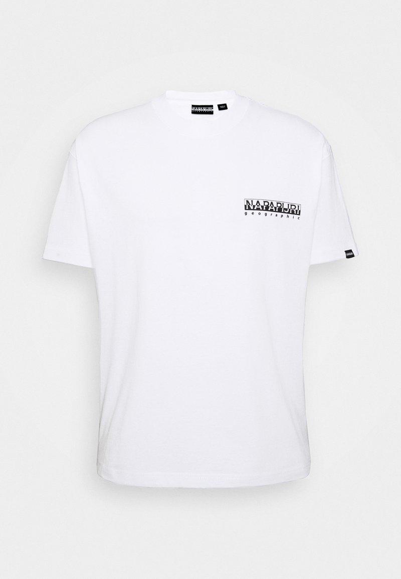 Napapijri The Tribe - YOIK UNISEX - T-Shirt print - bright white