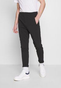 Denim Project - SUIT PANT - Trousers - black - 0