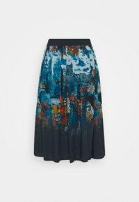 Thought - SISSINGHURST SKIRT - A-line skirt - midnight navy - 1