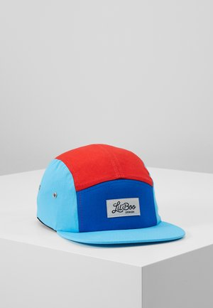 BLOCK - Cappellino - red/blue/turquoise
