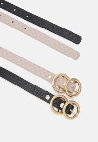 River Island - 2 PACK - Belt - black - 1