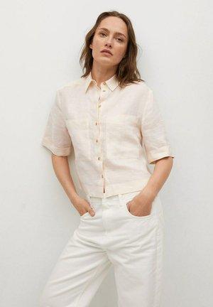 JENI - Button-down blouse - ecru