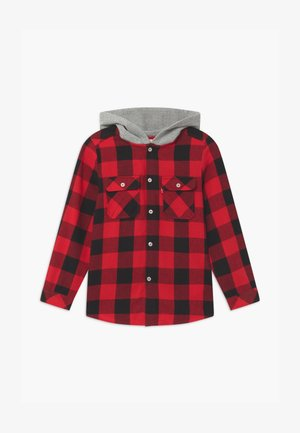 HOODED - Shirt - super red