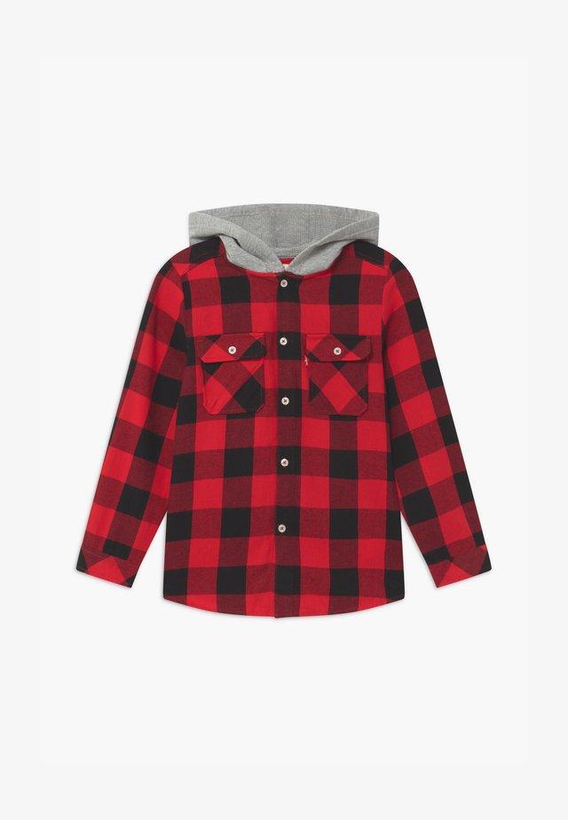 HOODED - Overhemd - super red